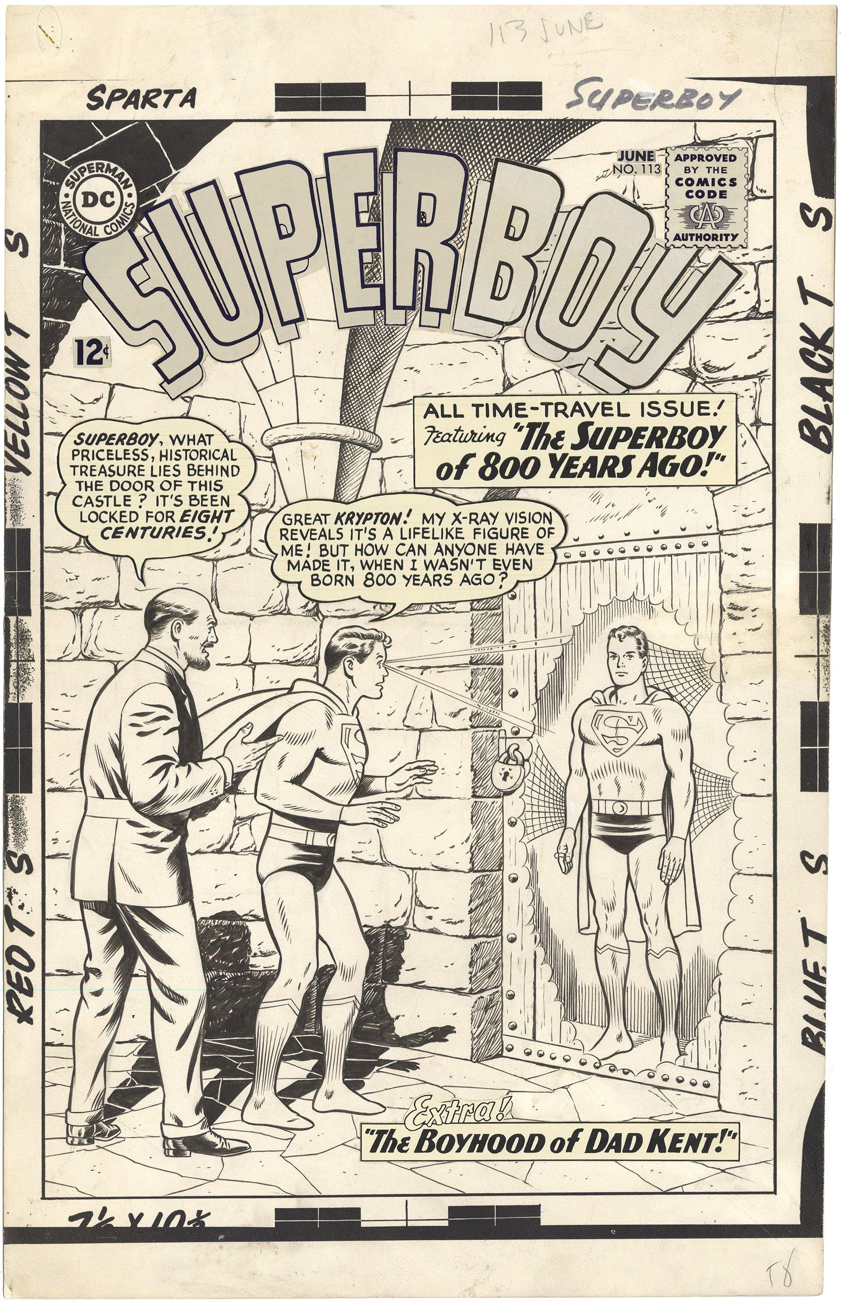 Superboy #113 Cover (Large Art)