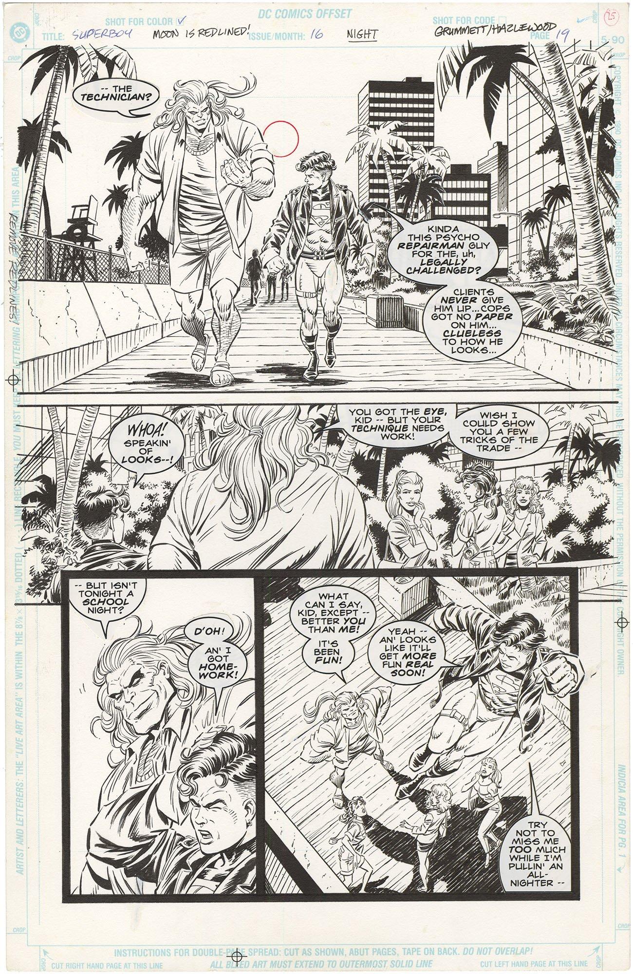 Superboy #16 p19
