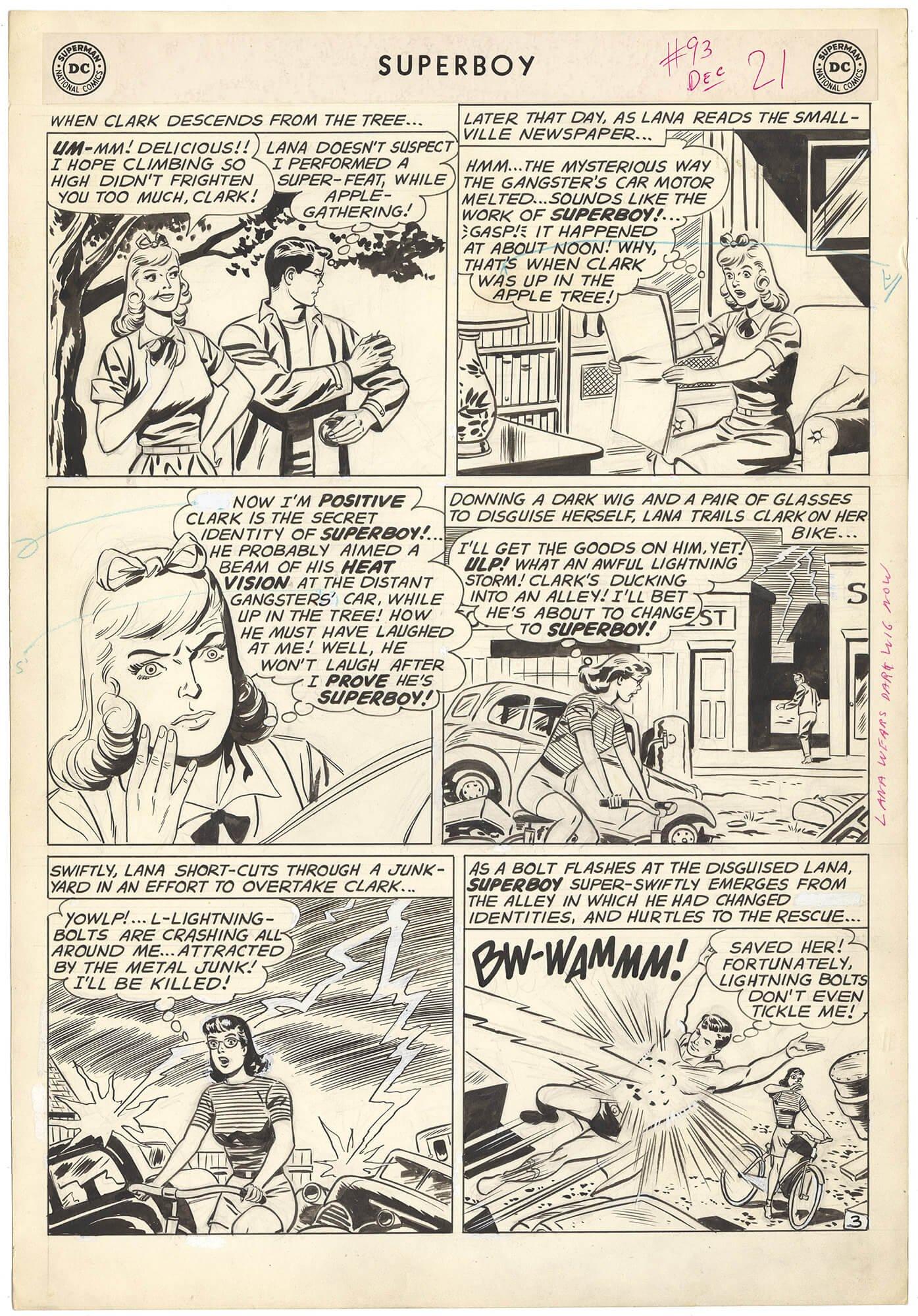 Superboy #93 p3 (Large Art)