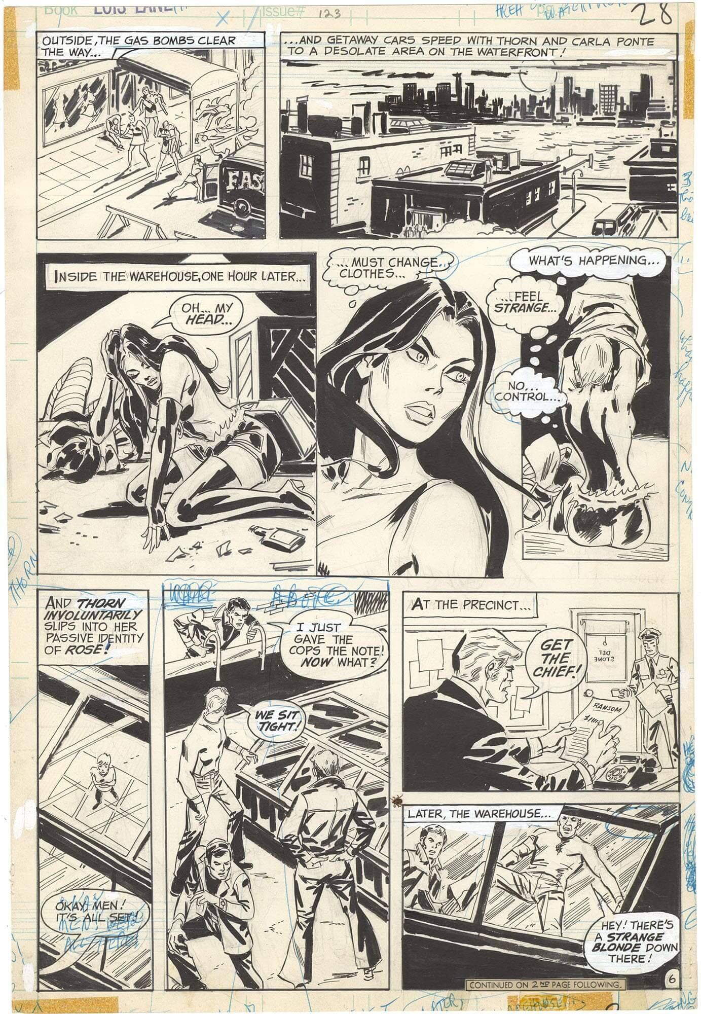 Superman's Girl Friend, Lois Lane #123 p6 (Rose and Thorn)