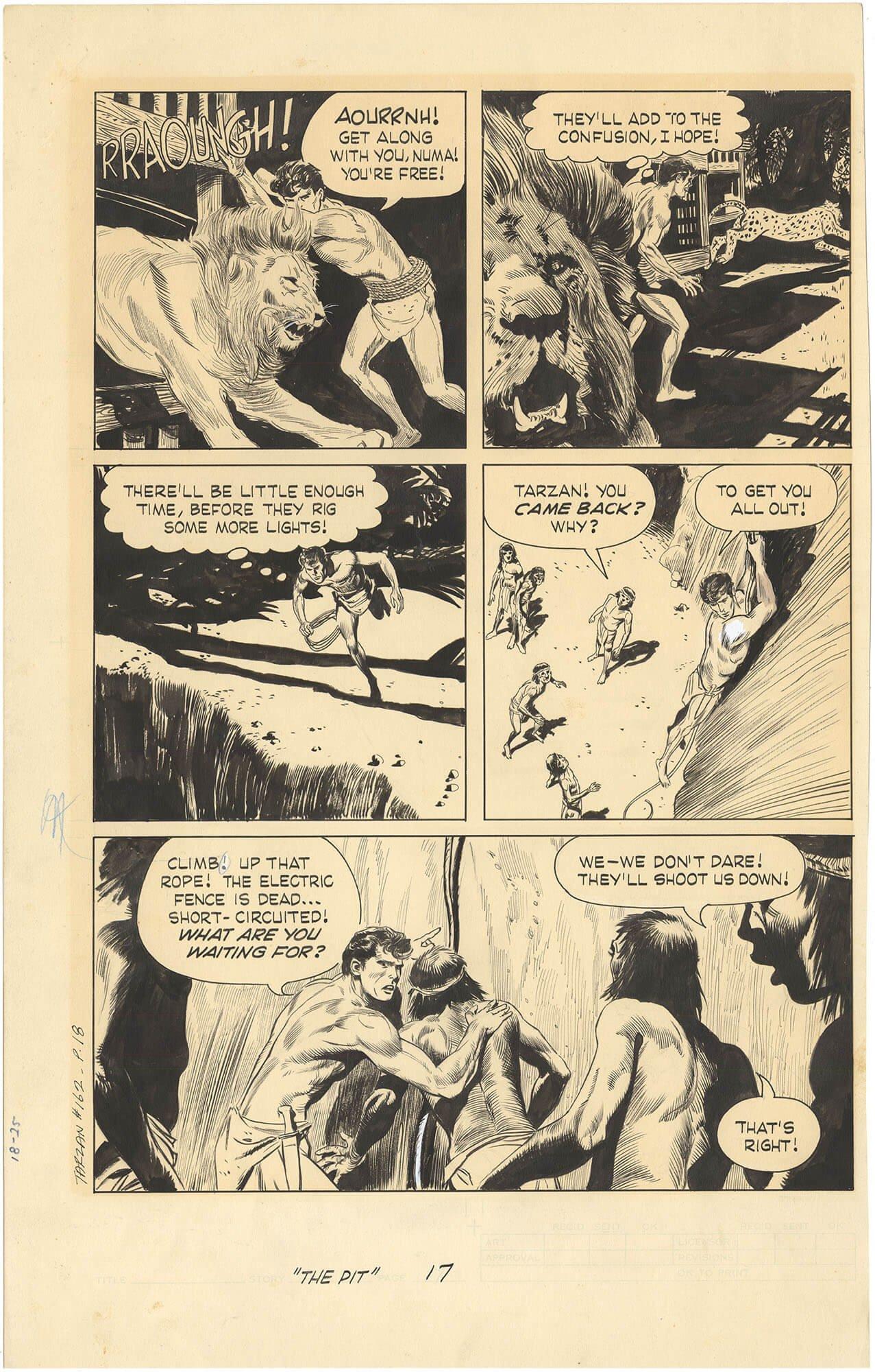 Tarzan #162 p18 (Large Art)