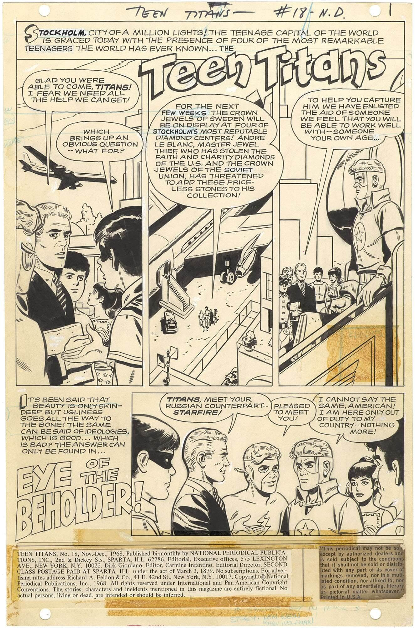 Teen Titans #18 p1