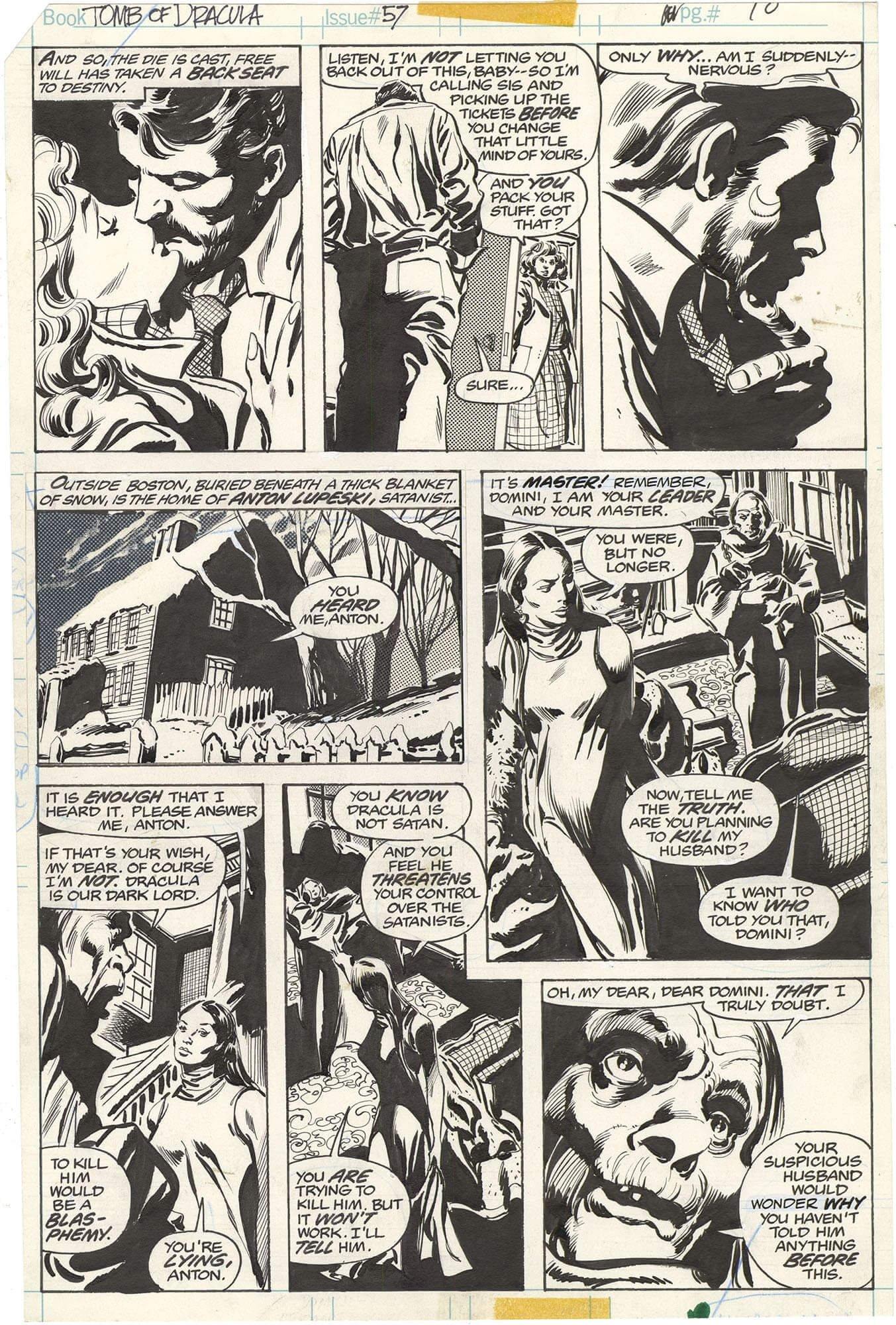 Tomb of Dracula #57 p10