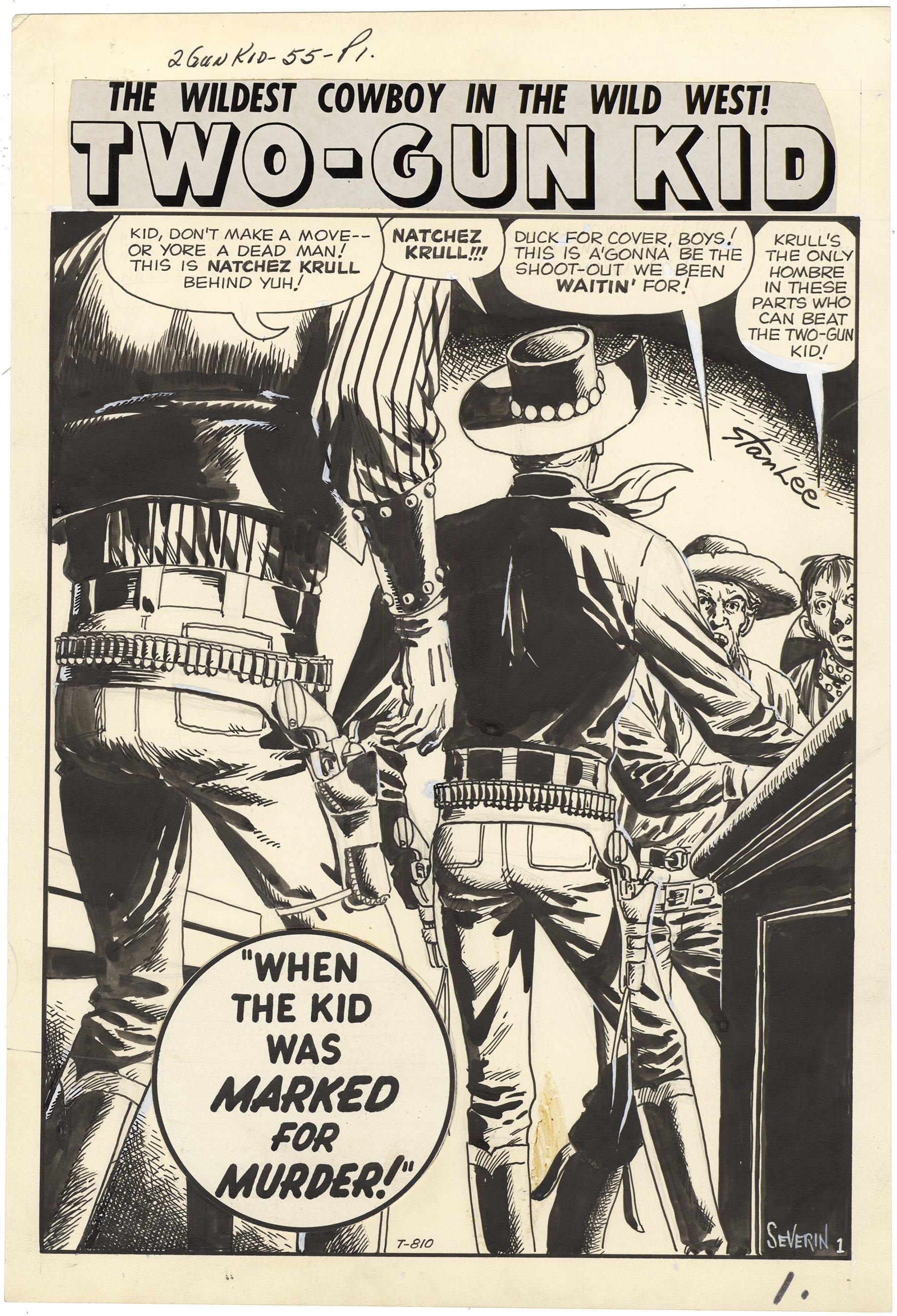 Two-Gun Kid #55 p1