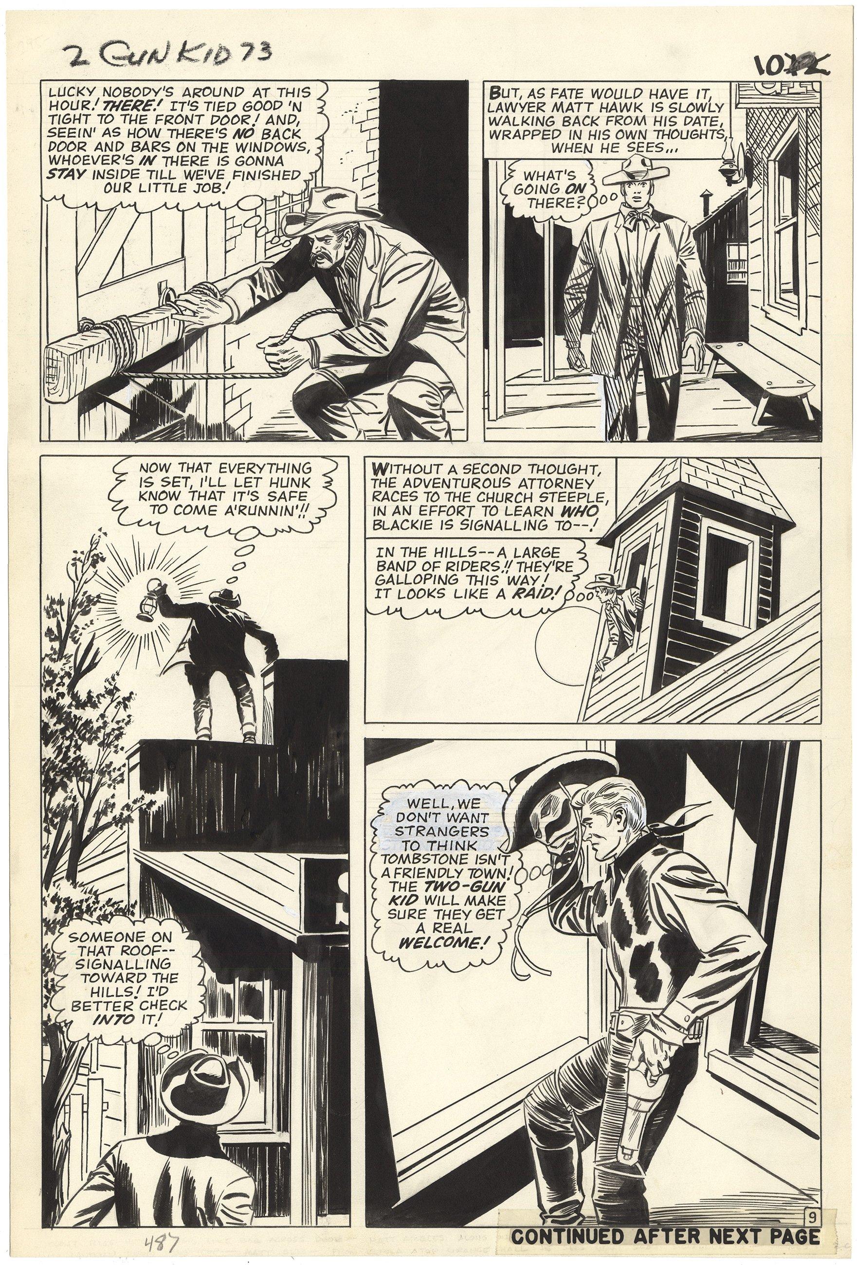 Two Gun Kid #73 p9 (Large Art)