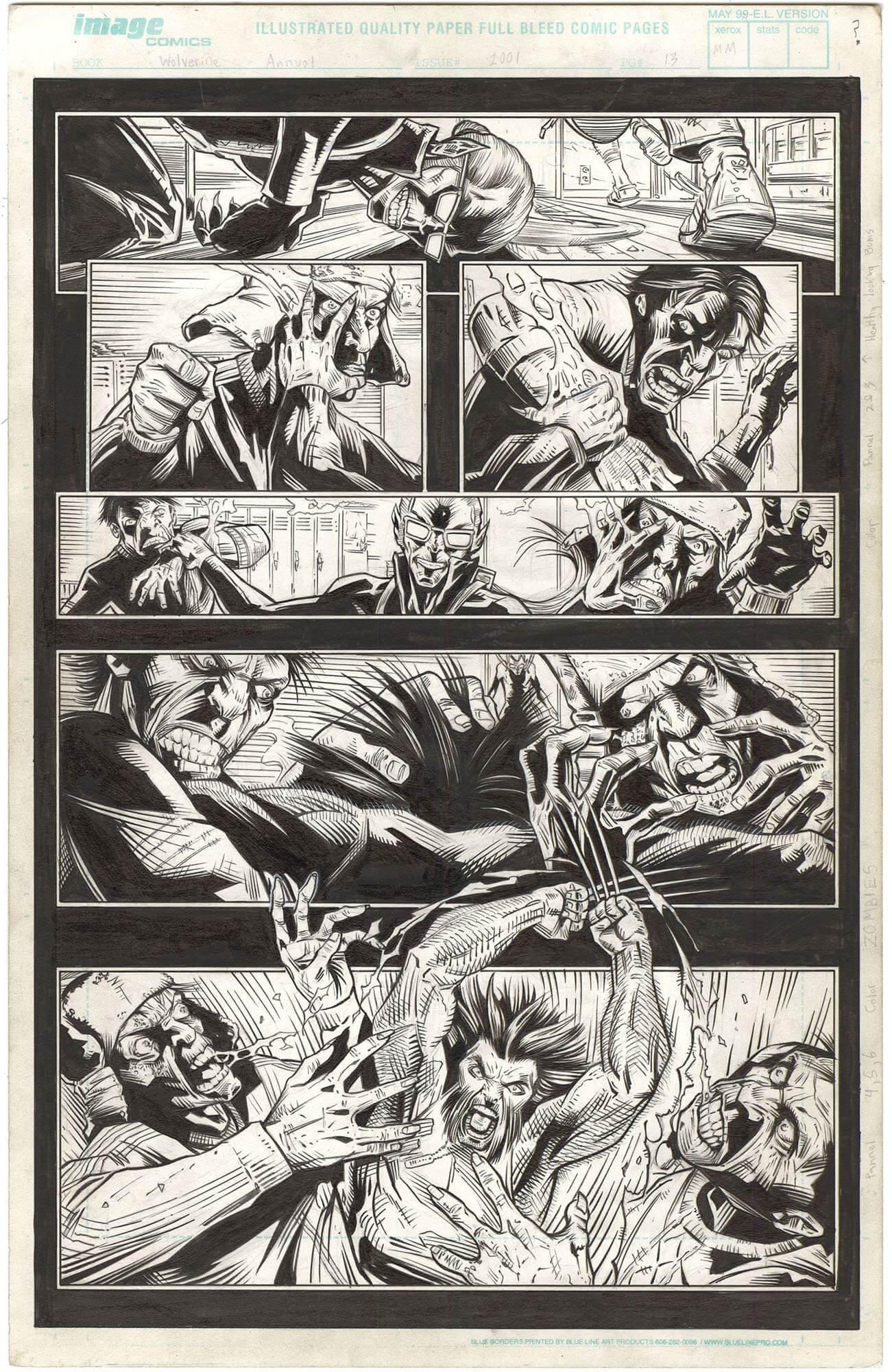 Wolverine Annual Vol 2 (2001) #6 p13