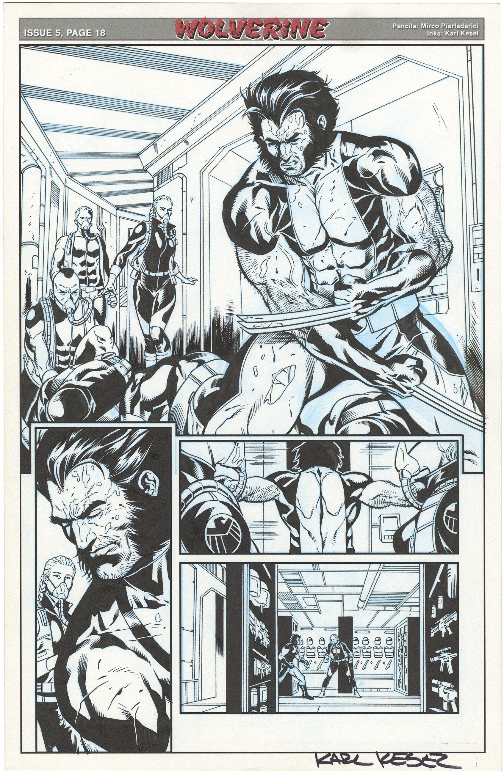 Wolverine #5 p18 (Signed)