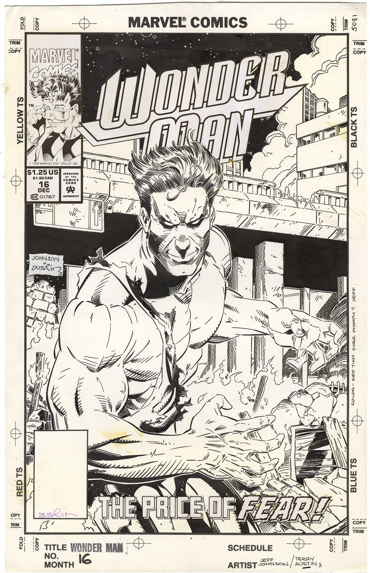 Wonder Man #16 Cover