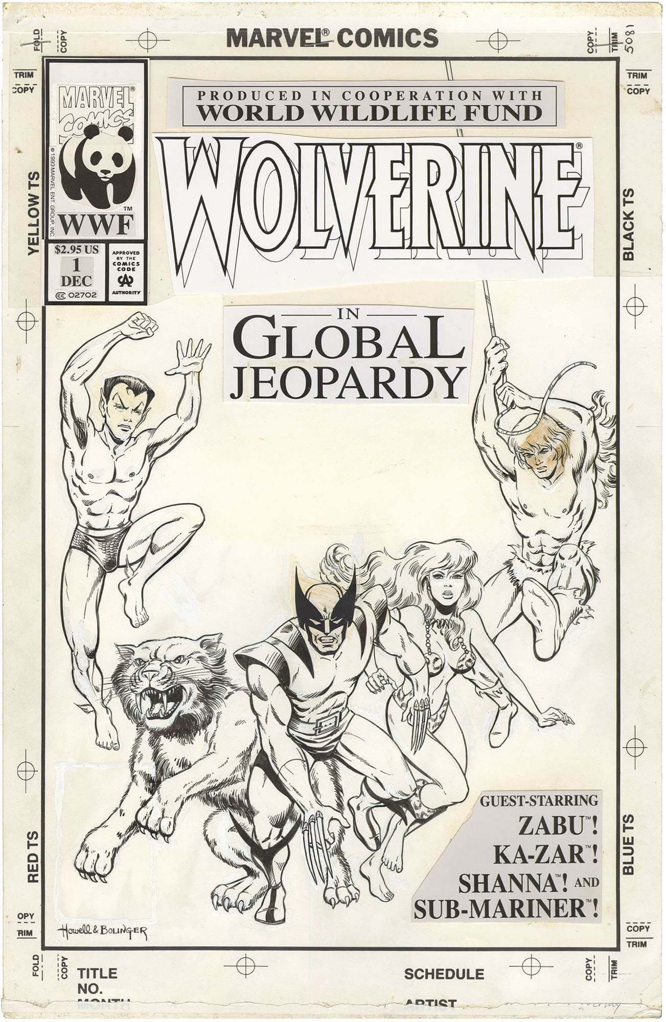 Wolverine: Global Jeopardy #1 Cover