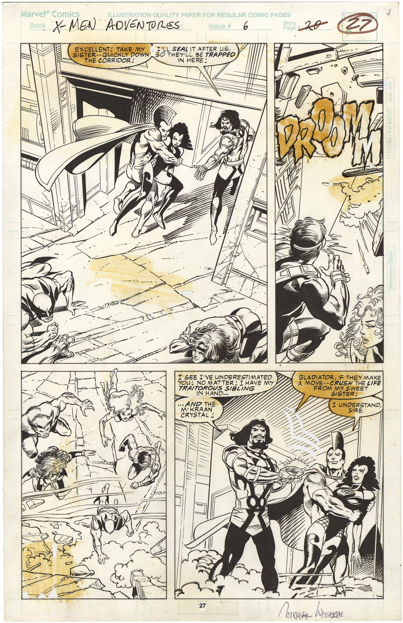 X-Men Adventures #6 p27