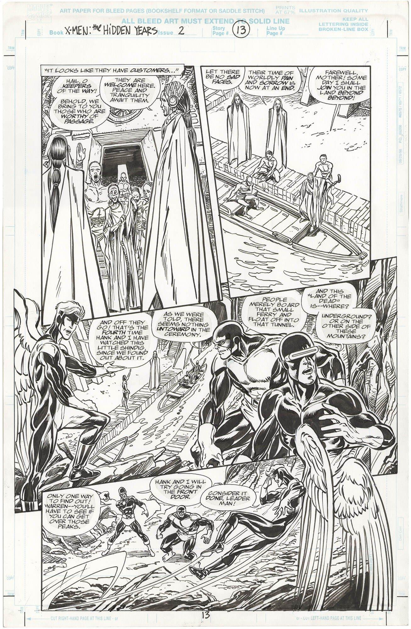 X-Men: The Hidden Years #2 p13