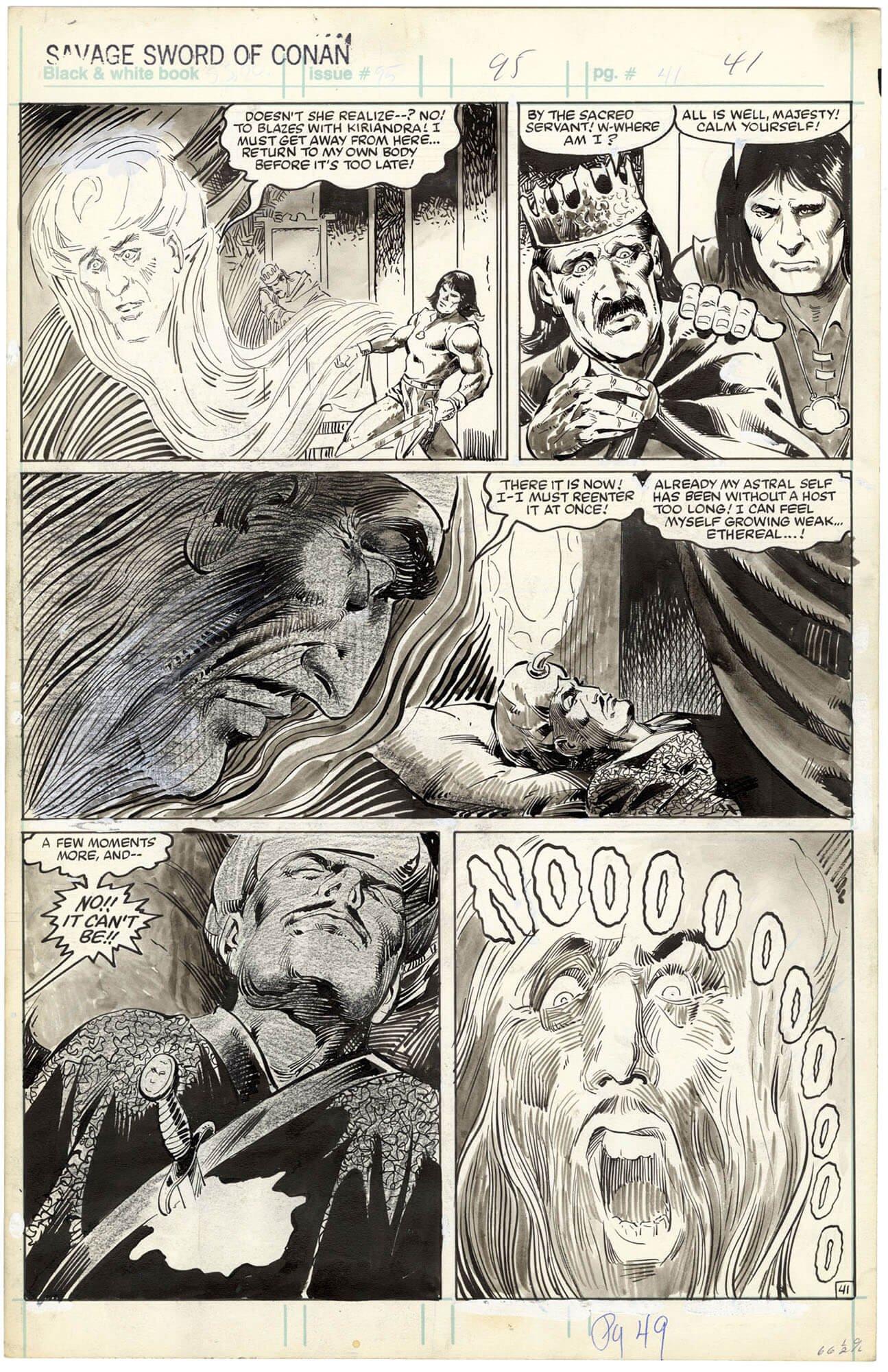Savage Sword of Conan #94 p41