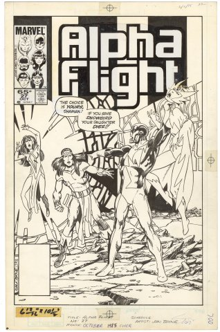 Alpha Flight #27 Cover