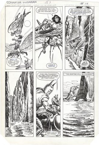 Conan the Barbarian #153 p14