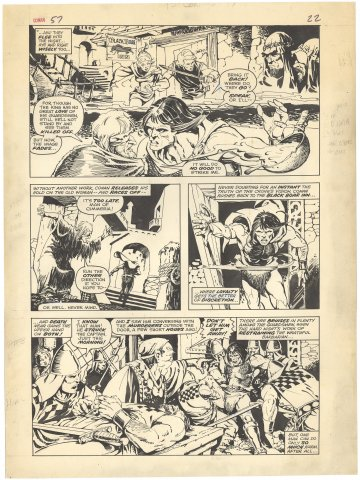 Conan the Barbarian #57 p22