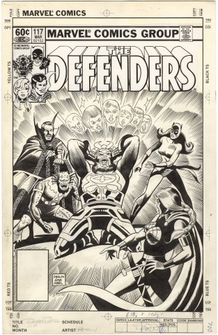 Defenders #117 Cover