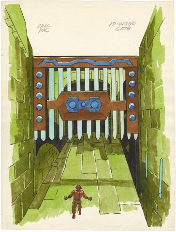 Painted Kirby Animation (Drac Pac) Pronged Gate
