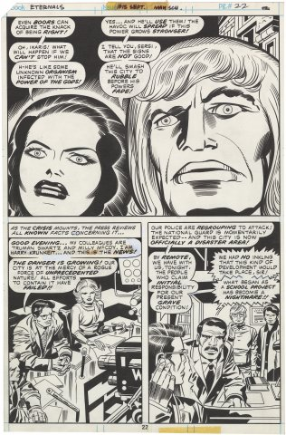 Eternals #15 p22 (Half Splash)