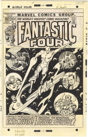 Fantastic Four #123 Cover