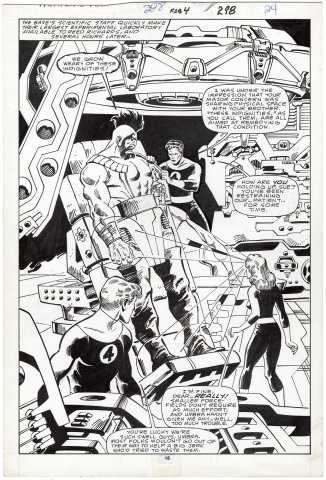 Fantastic Four #298 p18 (Splash)