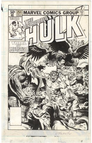 Incredible Hulk #253 Cover