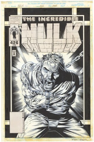 Incredible Hulk #426 Cover