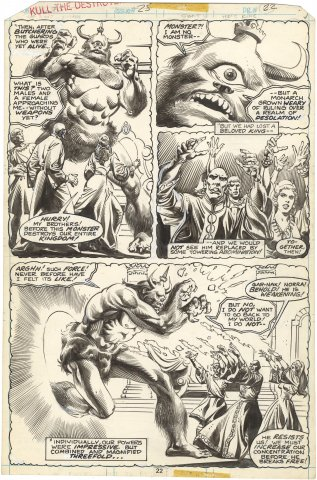 Kull the Destroyer #25 p22