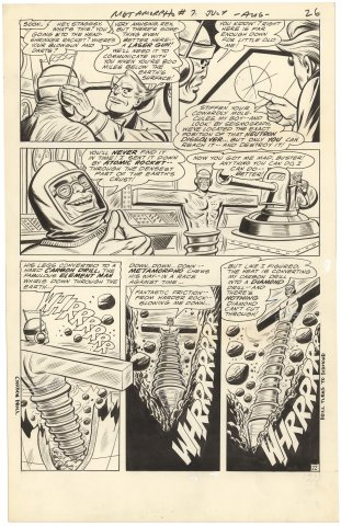 Metamorpho #7 p22 (Large Art)
