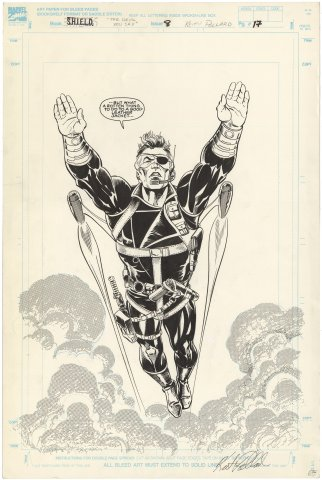 Nick Fury Agent of Shield #8 p17 (Large Art)