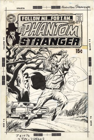 Phantom Stranger #7 Cover