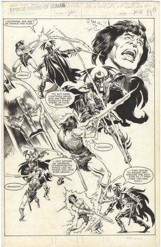 Savage Sword of Conan #90 p49