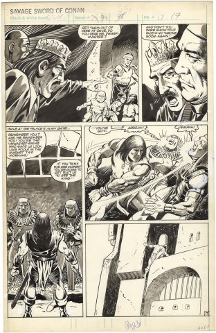 Savage Sword of Conan #94 p17