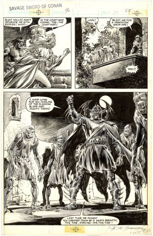 Savage Sword of Conan #96 p38