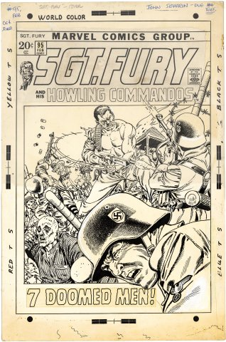 Sgt Fury and His Howling Commandos #95 Cover
