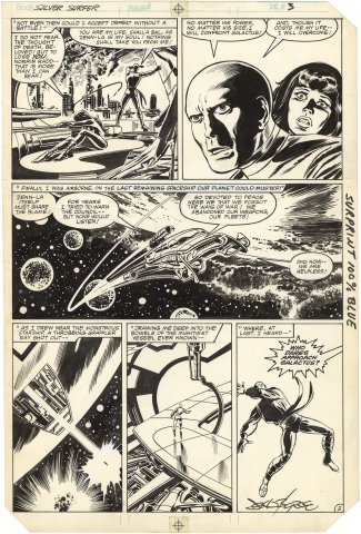Silver Surfer 1982 (Graphic Novel) #1 p3
