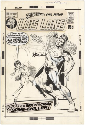 Superman's Girl Friend Lois Lane #109 Cover