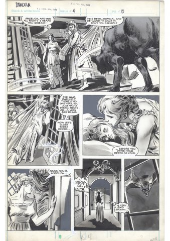 Tomb of Dracula Magazine #4 p10