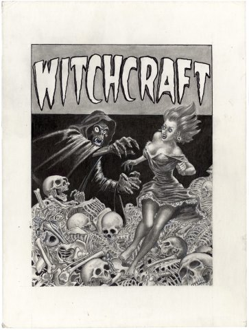 Witchcraft #5 (Cover Recreation)