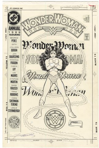 Wonder Woman Annual #2 Cover